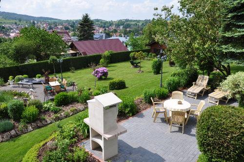 Ferienhaus mit Garten und Liegewiese
