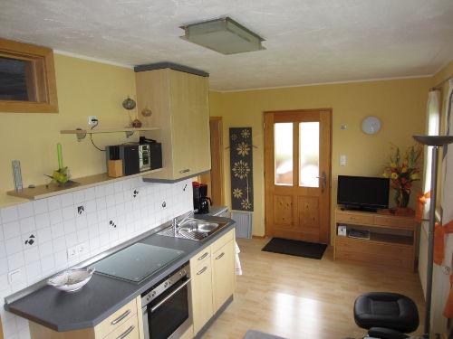 Küchenzeile koplett ausgestattet