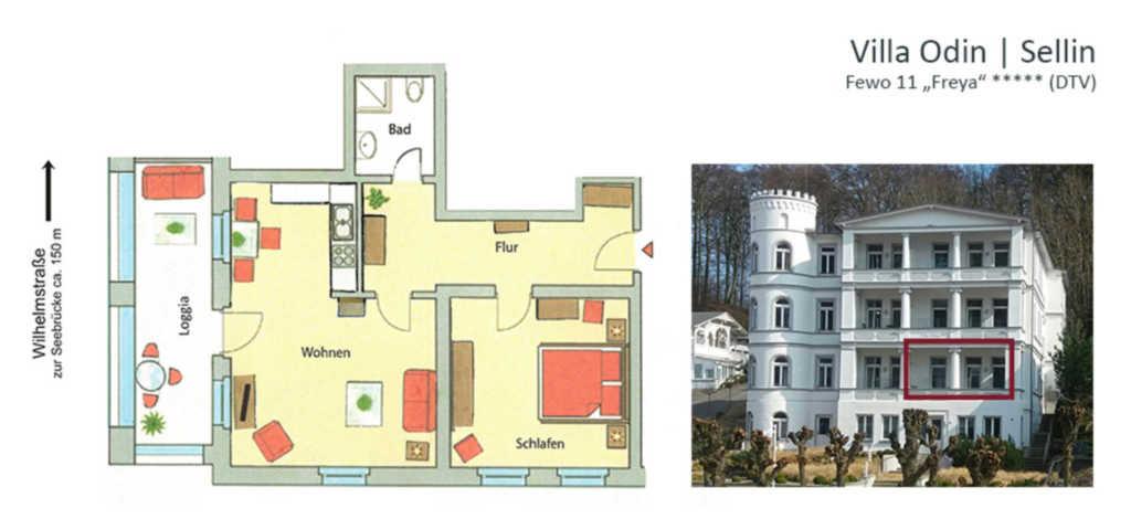 Villa Odin, Fewo11 | Freya