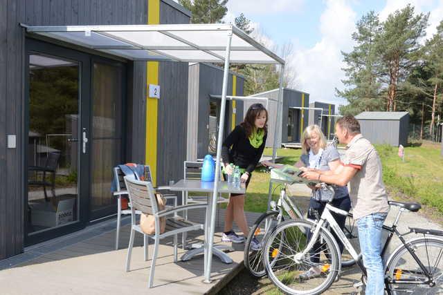 Hafencamp Senftenberger See, Campinghütte bis 3 Pe