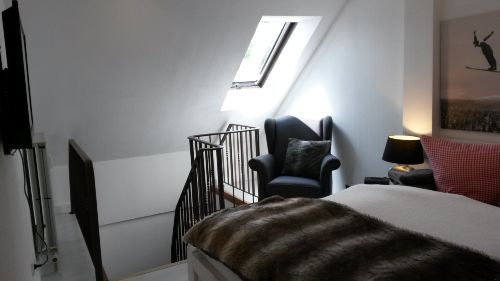 Schlafzimmer Gipfelstürmer