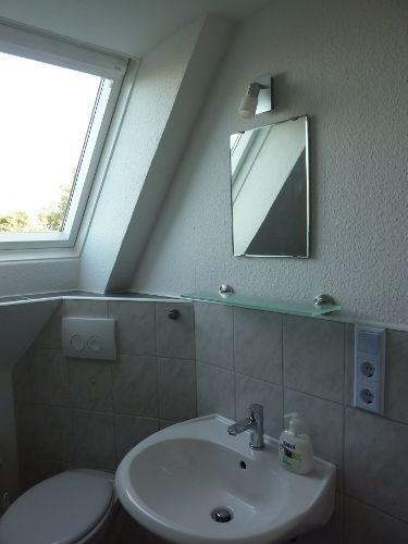Kleines WC im Obergeschoss