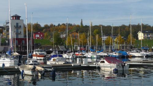 Hafen der Marina Mücheln
