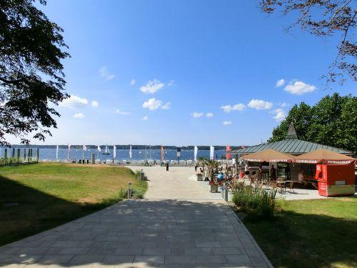 Zugang zur Strandpromenade