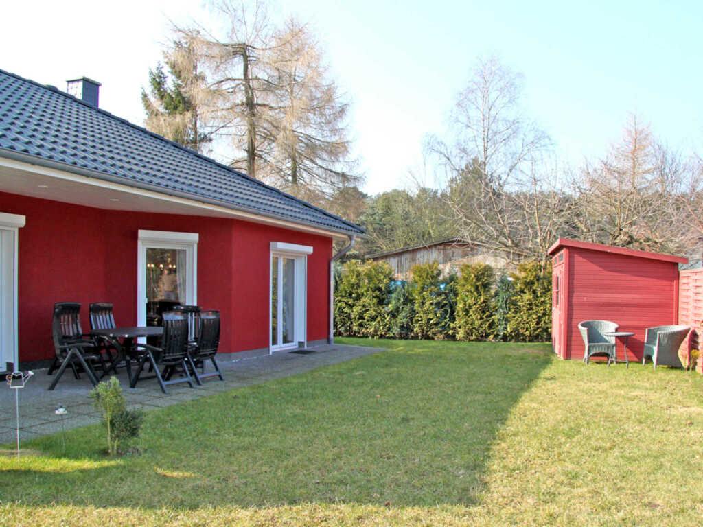 rotes Ferienhaus