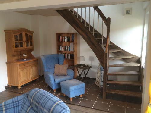 Die gemütliche Leseecke + Treppenaufgang