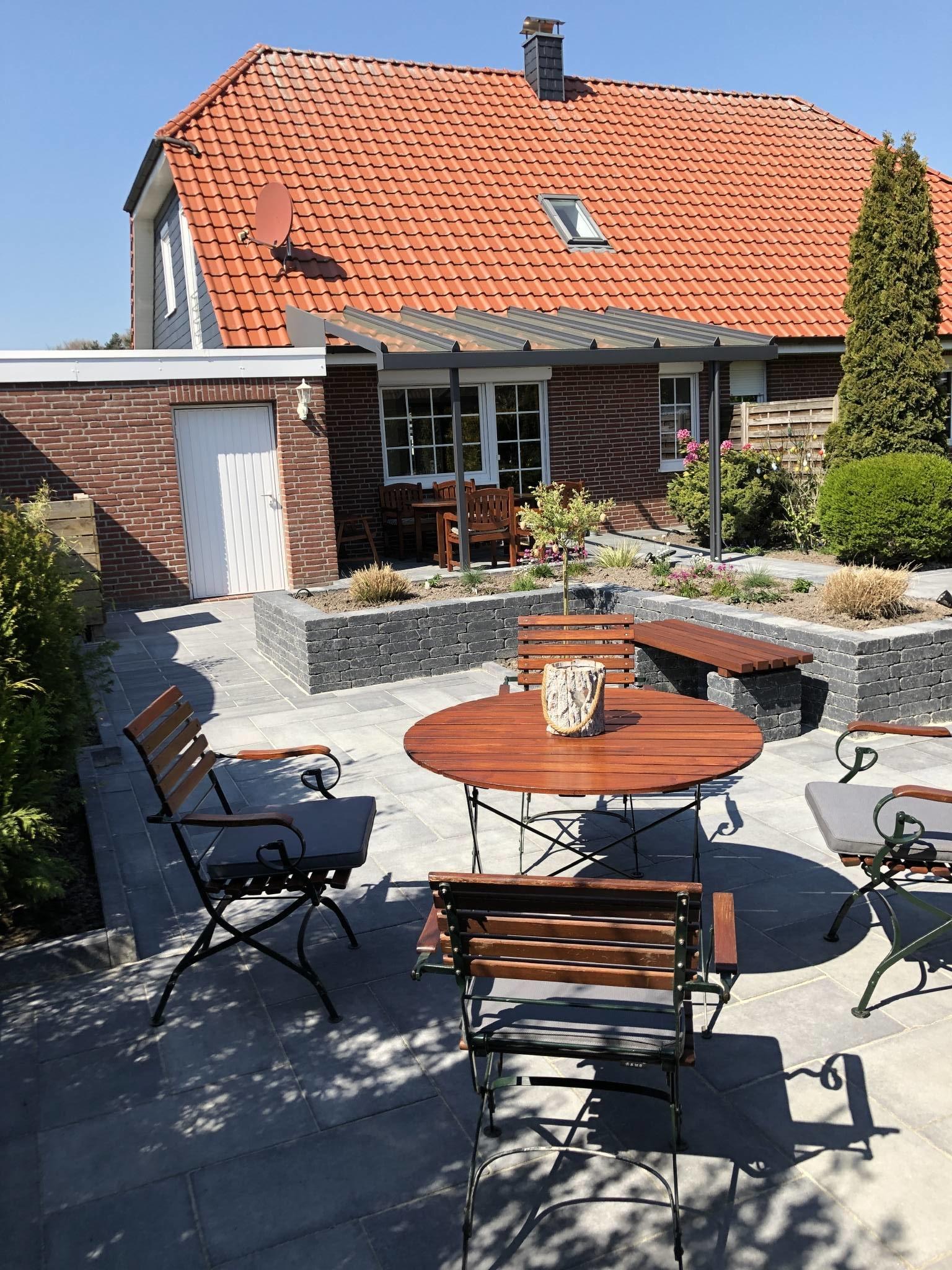 Ferienhaus Gartenansicht