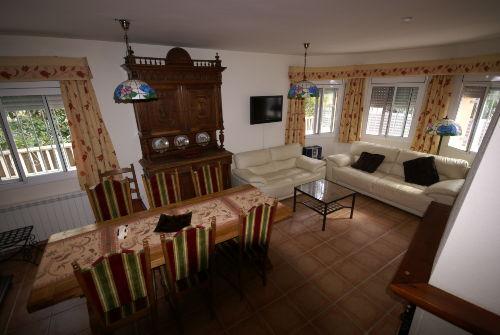 Wohn- und Essgruppe im Villa Max
