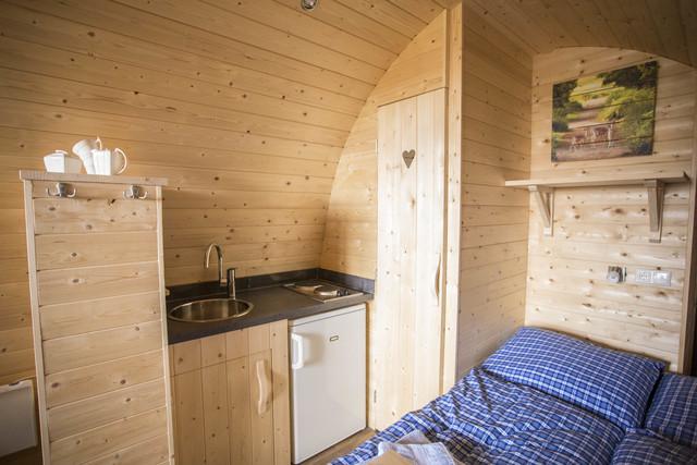 Hafencamp Senftenberger See, Exklusives Baumhaus m