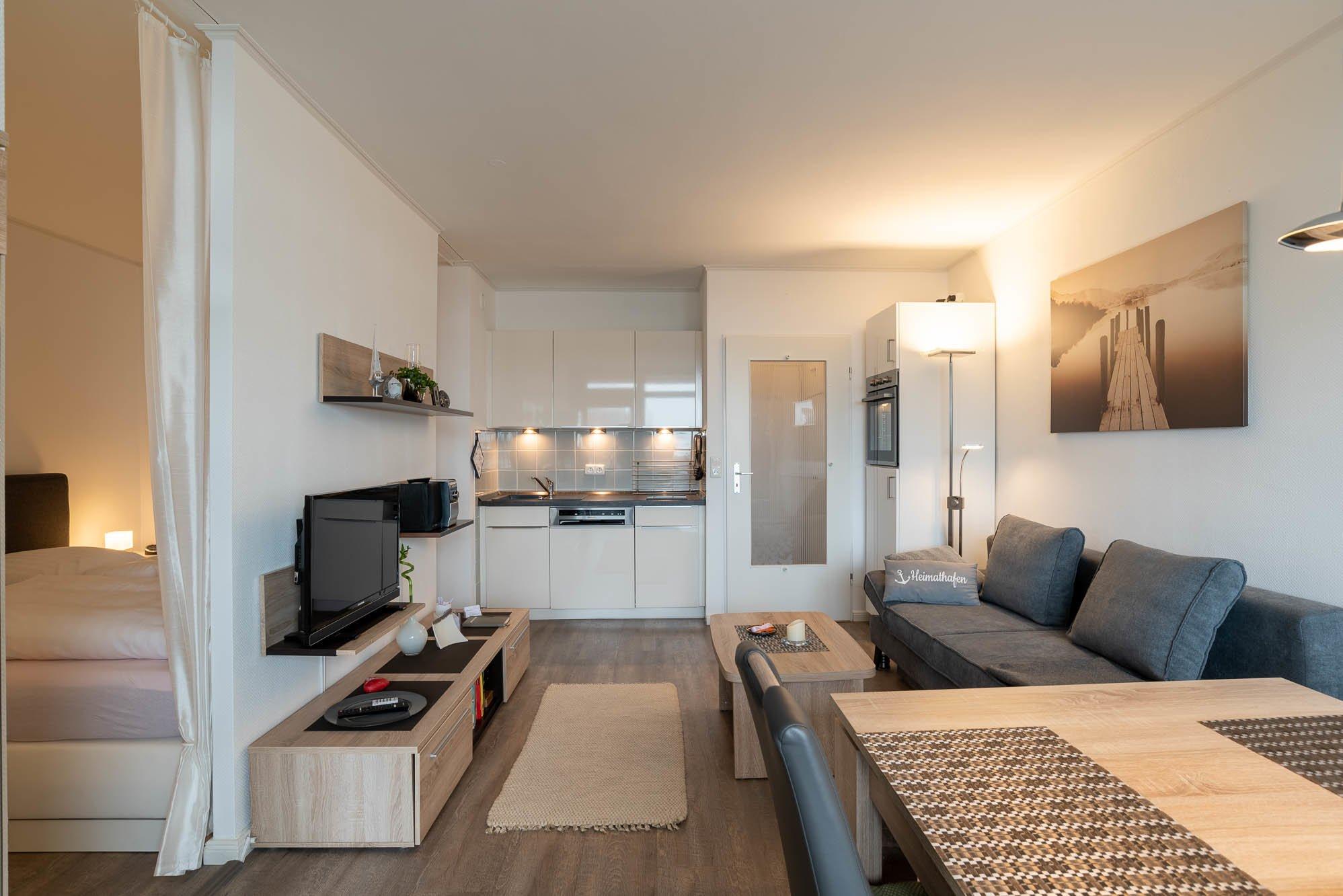 """Das """"kleine"""" Zimmer mit Einzelbett ."""
