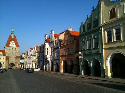 Domazlice Marktplatz