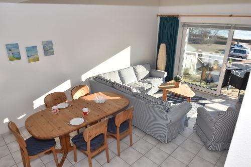 Kombinierter Wohn- und Essbereich