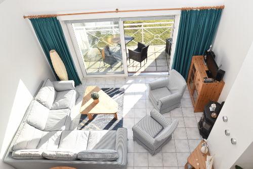 Eleganter Wohnbereich / Balkon