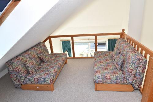 Sitzbereich im Obergeschoss