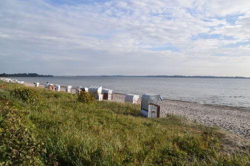Strand Holnis direkt vor der Haust�r