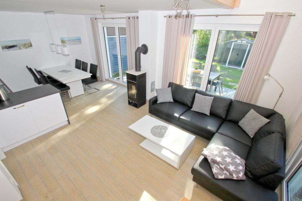 Ferienhaus am Dünenwald, A: 95 m², 4-Raum, 6 Pers.