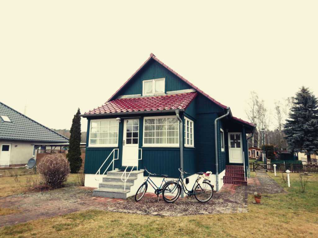 Grünes Ferienhaus in Altwarp, Ferienhaus