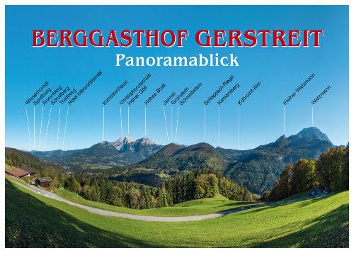 Umgebung von G�stezimmer im Berggasthof Gerstreit