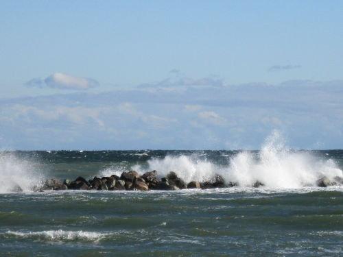 St�rmische Ostsee