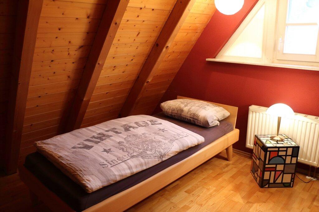 Schlafbereich Dachboden