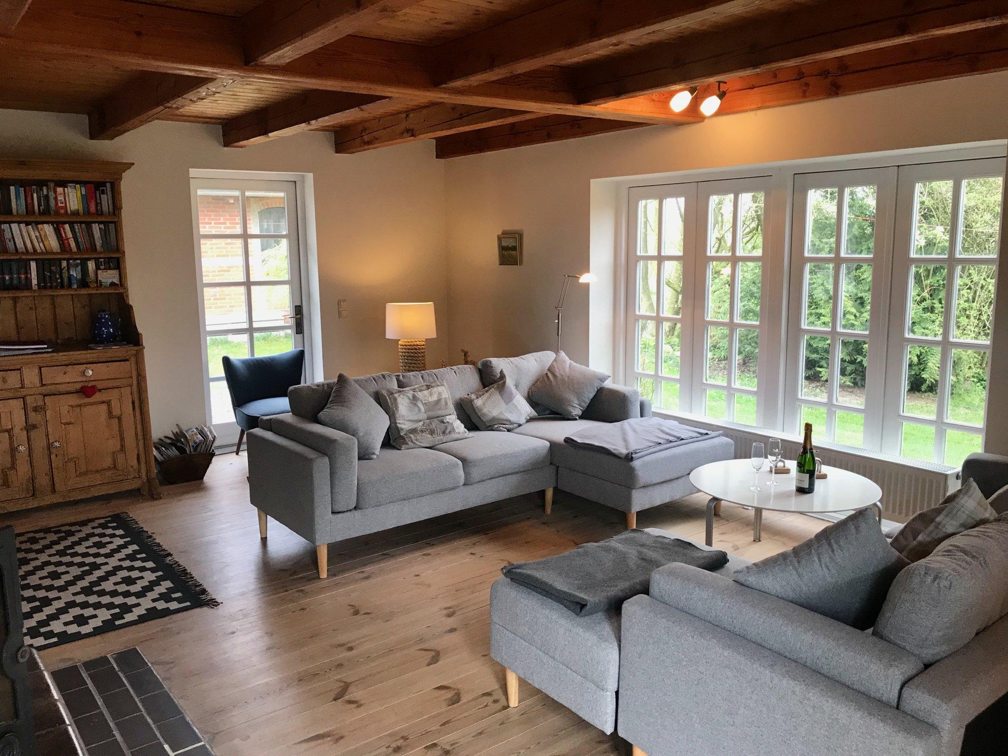 Landhausküche mit viel Platz