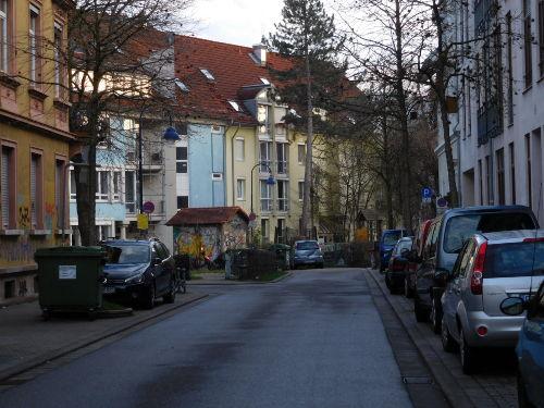 Blick auf Adlerstrasse 21