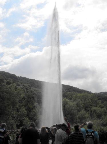 Der größte Kaltwassergeysir der Welt