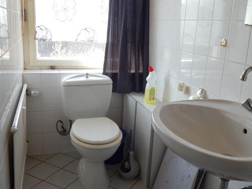 Toilette ist separat