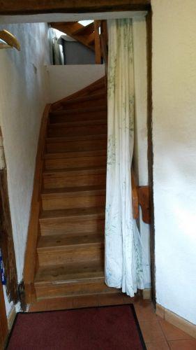 Treppenaufgang in den ersten Stock