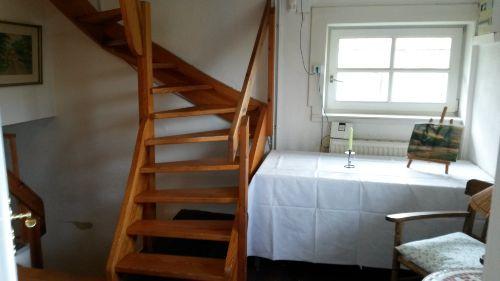 Offene Treppe zum 3.Stock