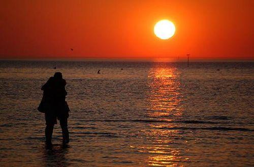 Abend am Strand