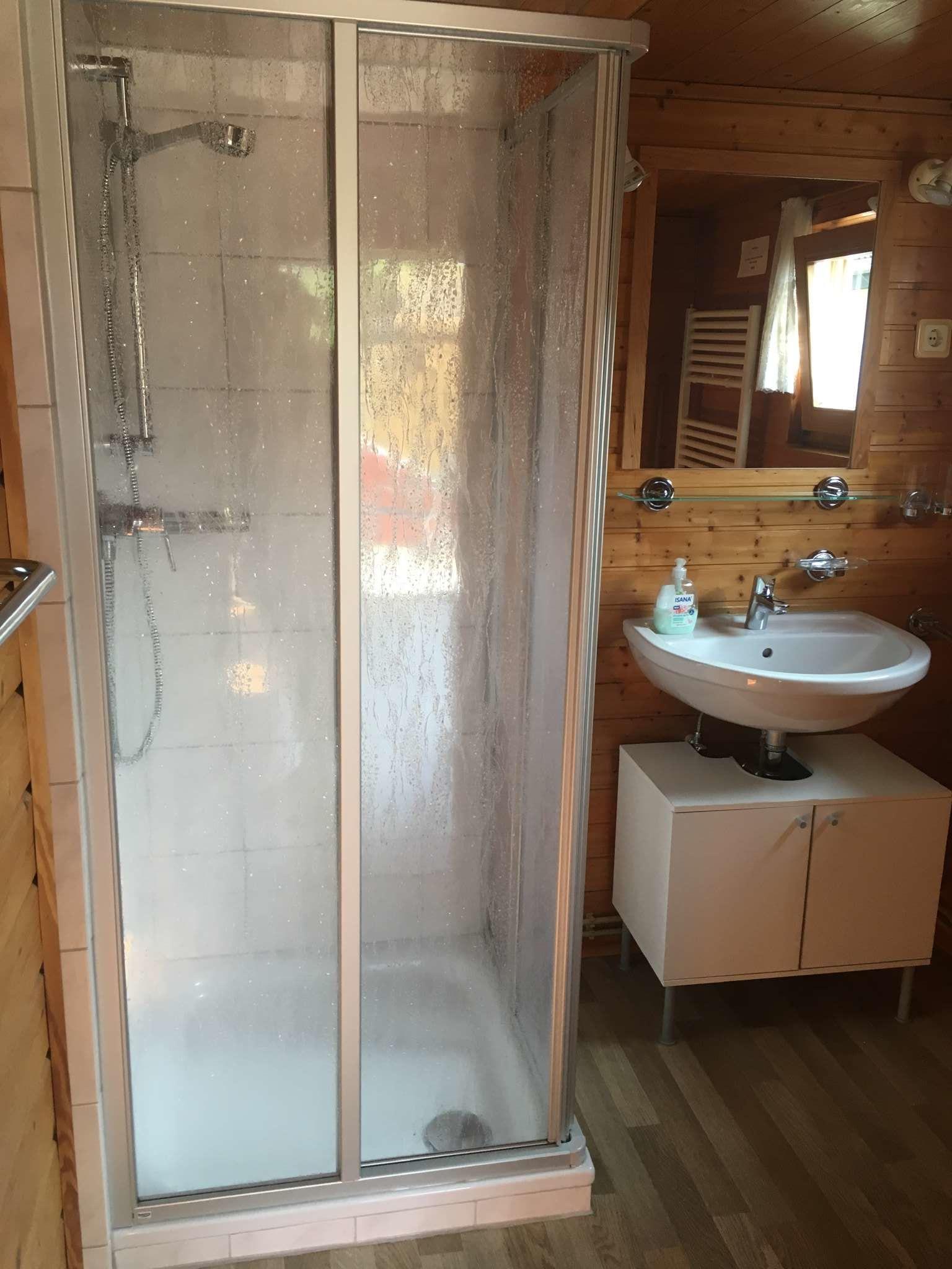 Bad / Dusche WC Blockhaus 2