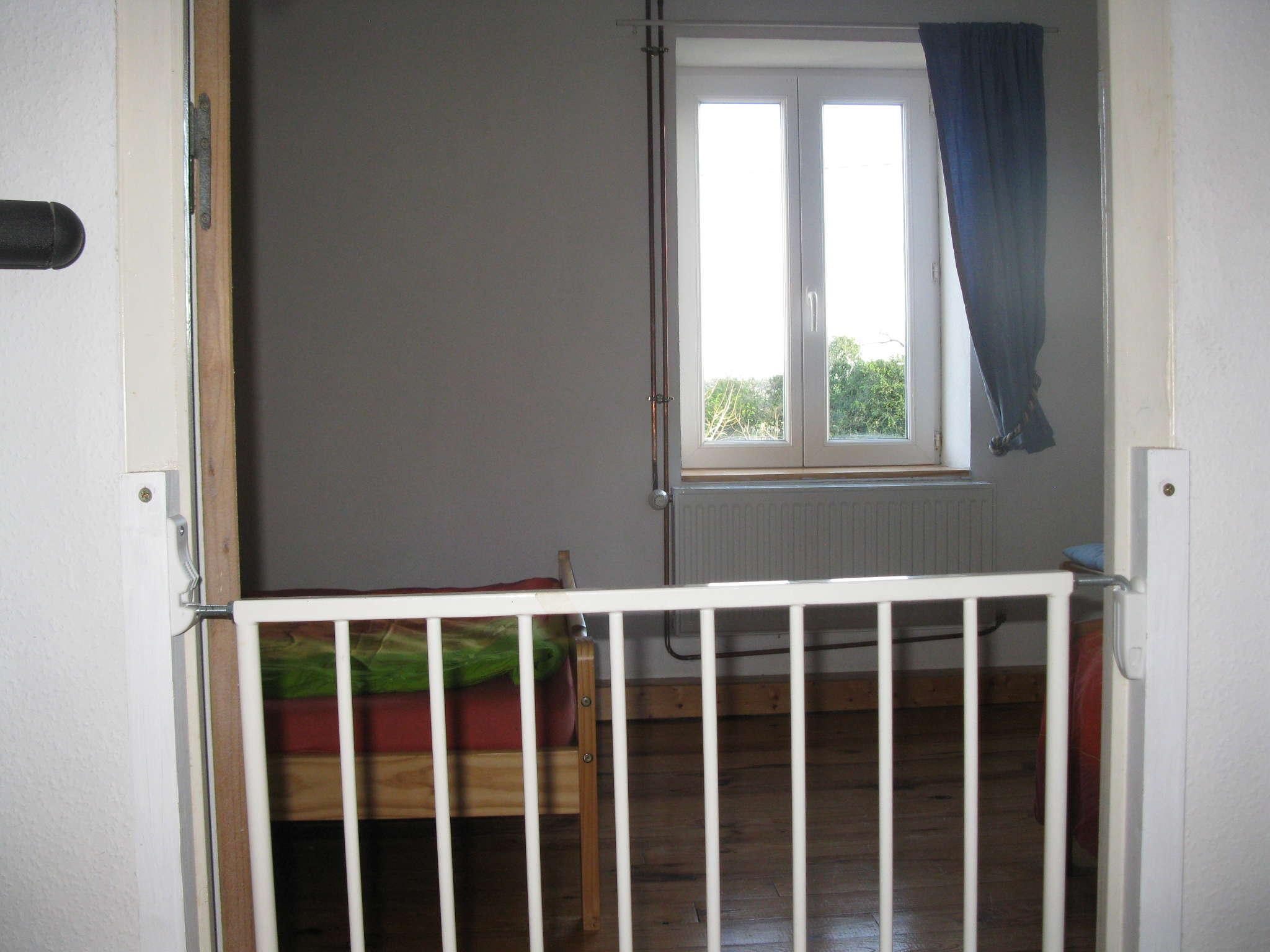 Das 2. obere Schlafzimmer ...