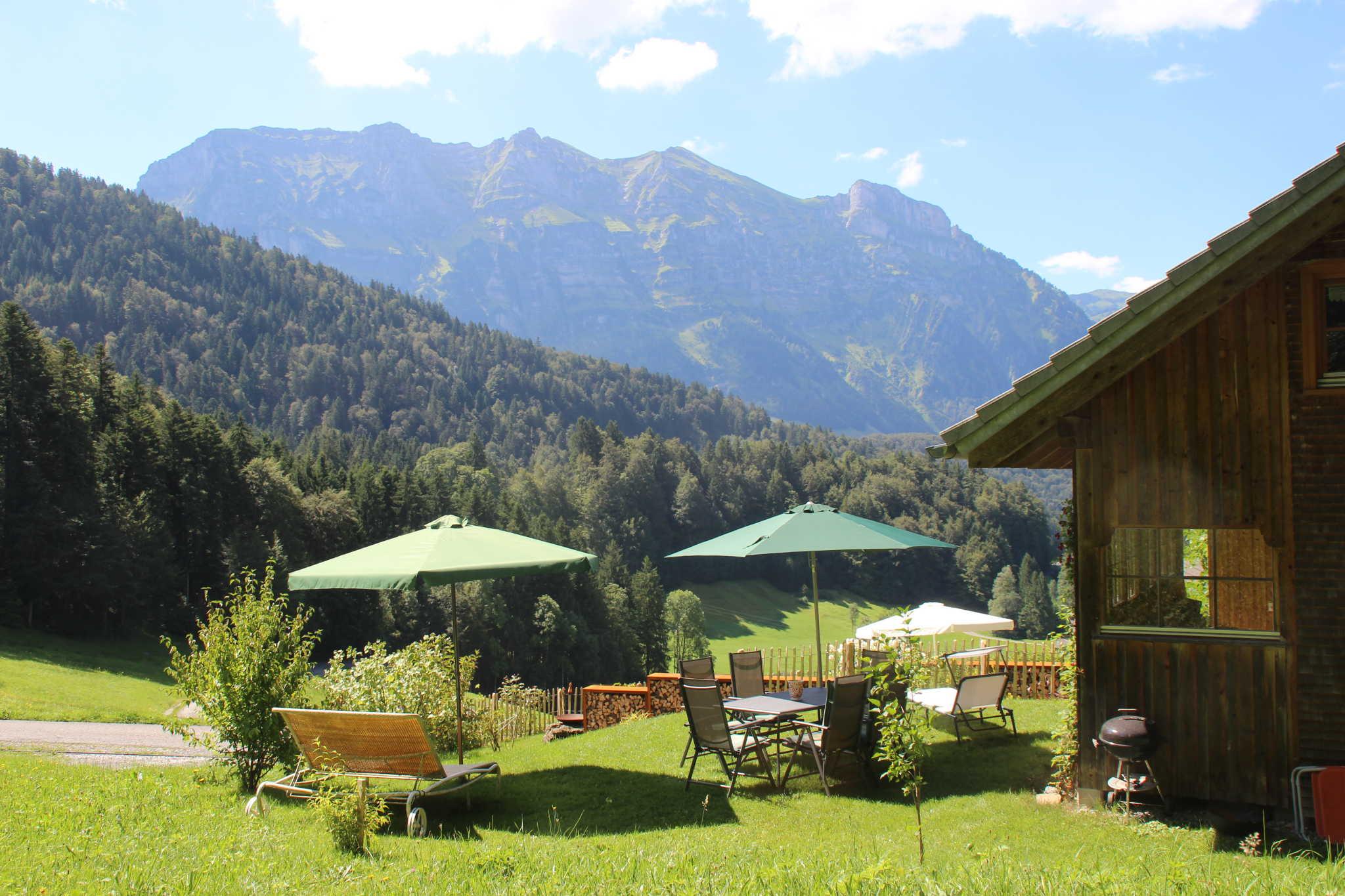 Umgebung von Ferienhaus Bregenzerwald-Alm