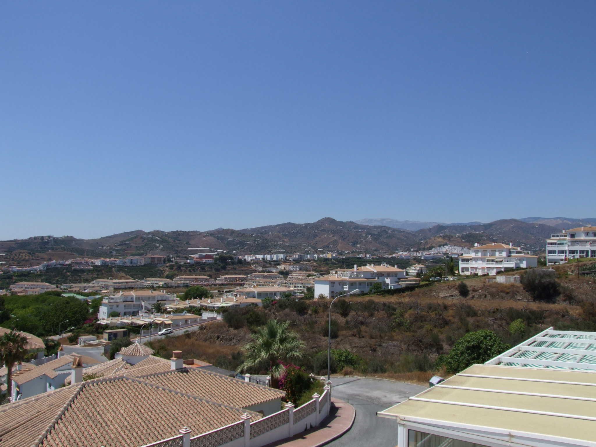 Terrasse mit Ausblick auf das Mittelmeer