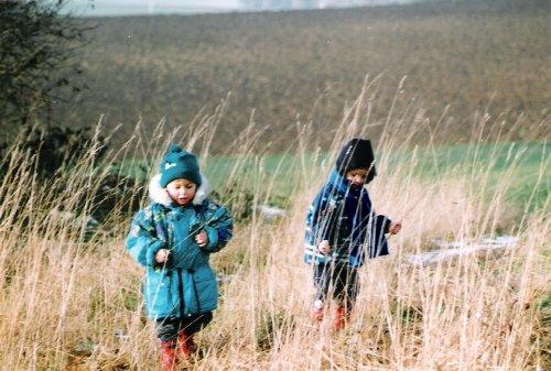 Sch�n: Spaziergang �ber Herbstwiesen