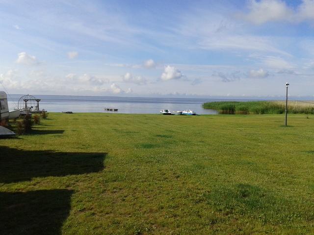 Campingplatz Danuta Insel Wolin, Camping 1