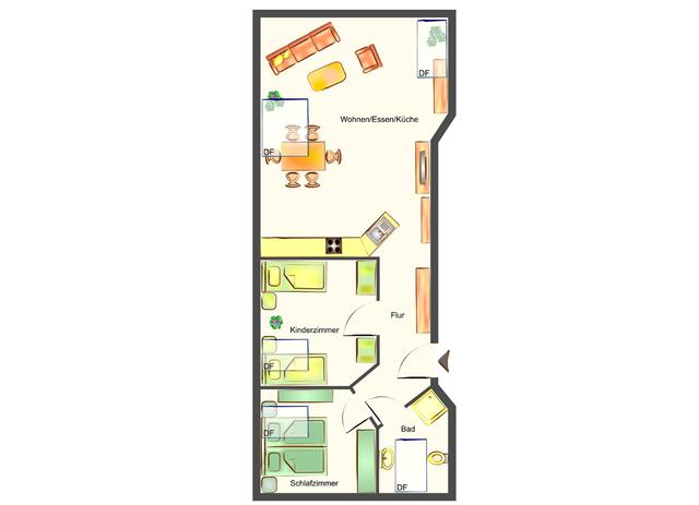 Villa Westfalia, App. 060 Westfalia 1