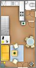 'Achter Dünem', App. 1-EG-rechts, 14-01 'Achter Dü