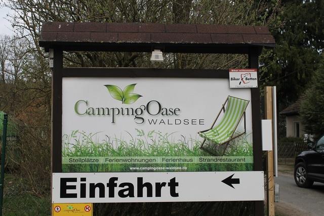 Campingoase Waldsee, Ferienhaus Waldläufer