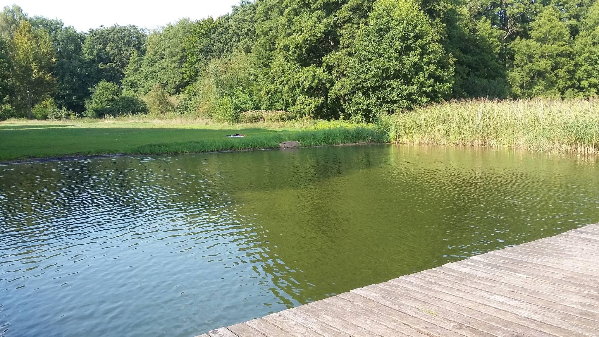 Kiever Badestrand am Glambecksee