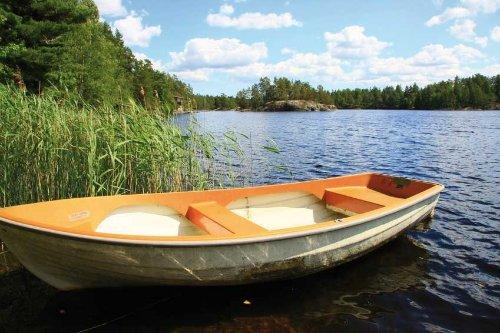 Ruderboot inklusive