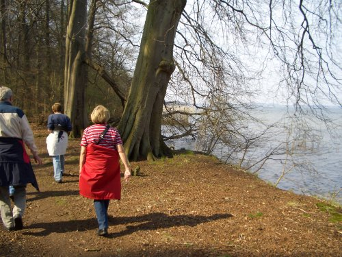 Wandern am Plauer See