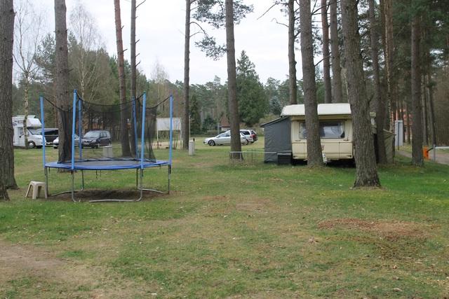 Campingoase Waldsee, Stellplatzpauschale mit Seebl