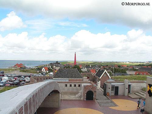 Fort Kijkduin von Napoleon im Huisduinen