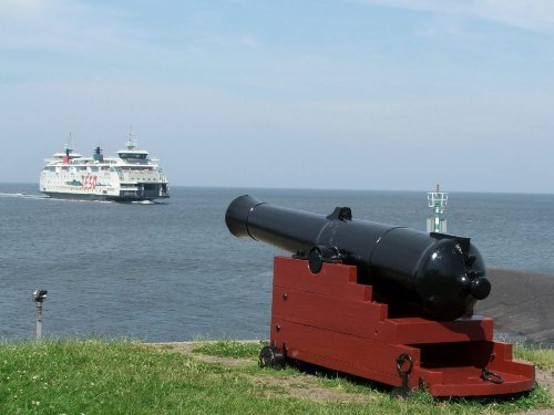 Boot nach Insel Texel