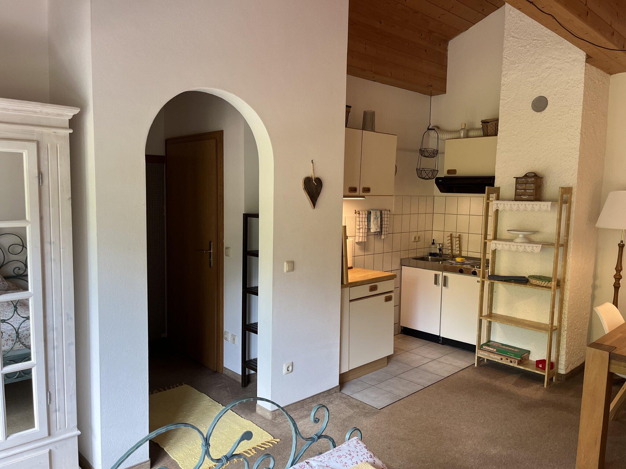 Apartment: separater Aufgang