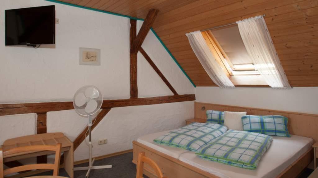 G�stehaus Spoth, Vierbettzimmer mit WC und Dusche