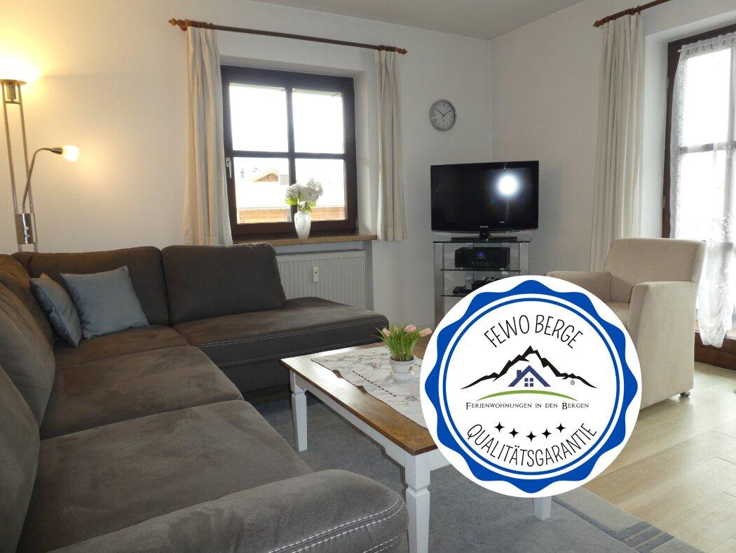Haus am Kurpark im Schnee
