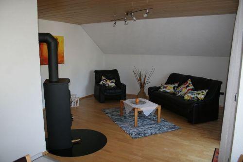 Wohnzimmer - FeWo Waldweg OG